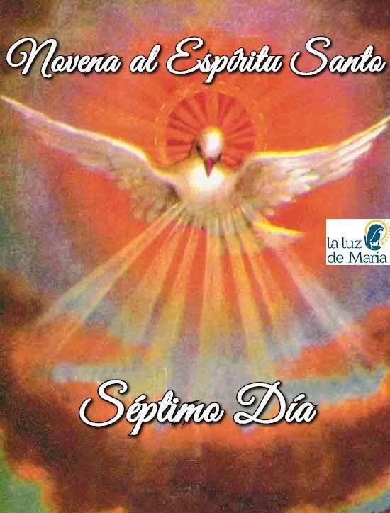 Novena por la Unción del Espíritu Santo (Séptimo Día)