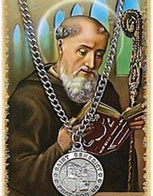 San Benito oración para librar de magias, envidias y malas lenguas