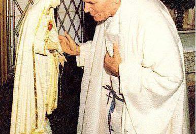 Oración a la Virgen María de San Juan Pablo II