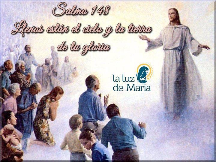 Llenos están el cielo y la tierra de tu gloria