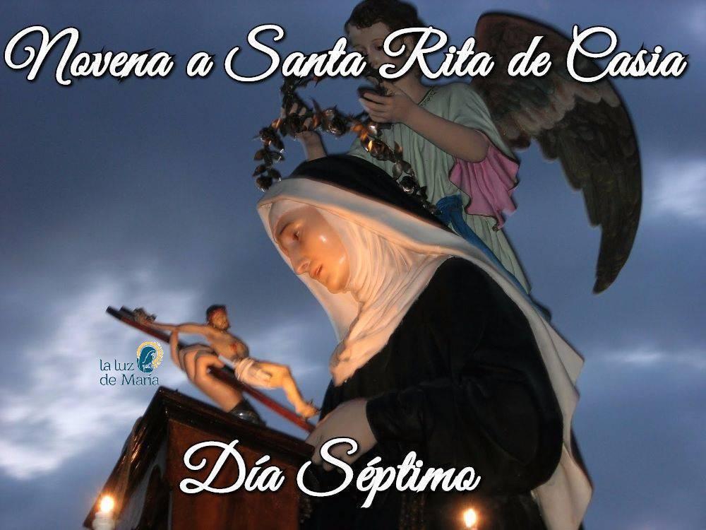 Novena a Santa Rita de Casia (día séptimo)