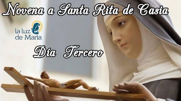 Novena a Santa Rita de Casia (día tercero)