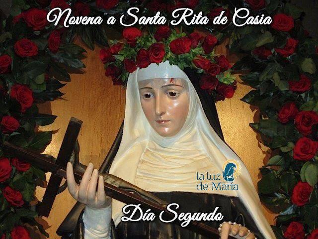 Novena a Santa Rita de Casia (día segundo)