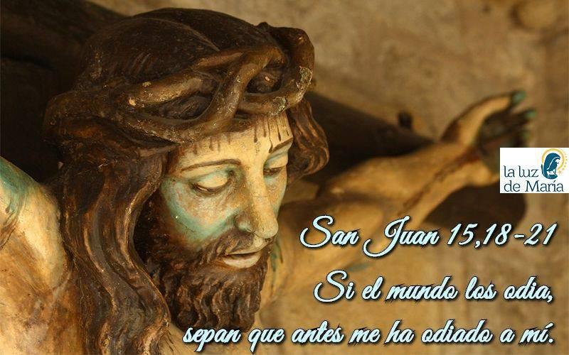 San Juan 15,18-21