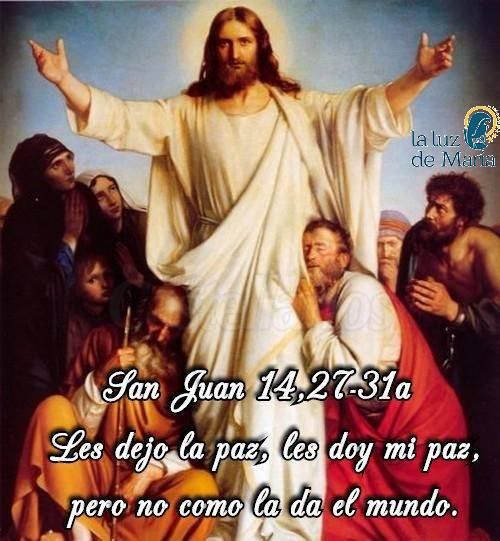 San Juan 14,27-31a