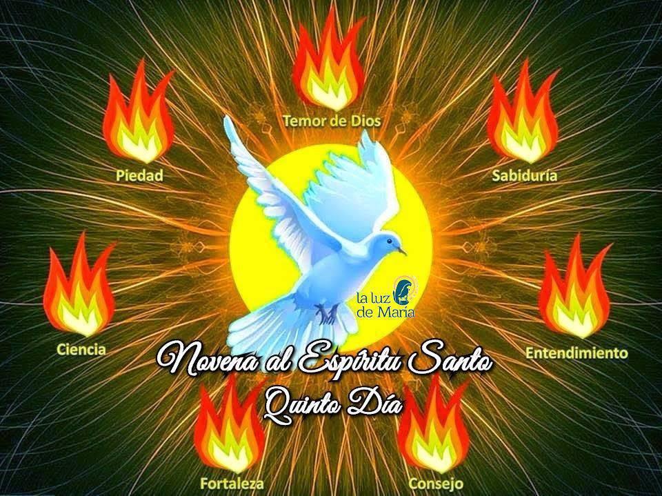 Novena por la Unción del Espíritu Santo (Quinto Día)