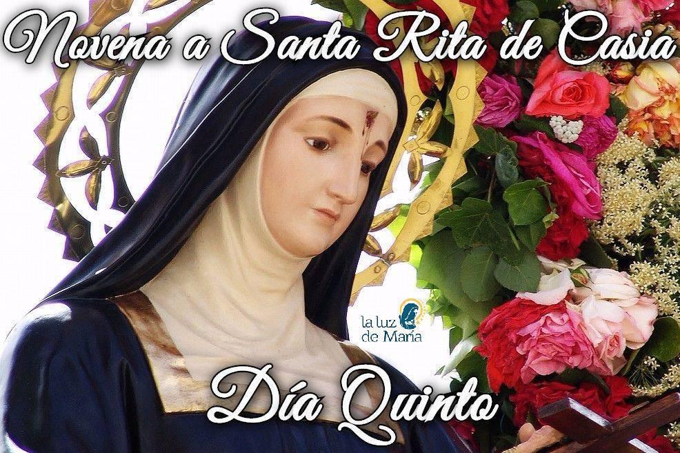 Novena a Santa Rita de Casia (día quinto)