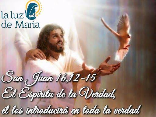 Evangelio según San Juan 16,12-15.