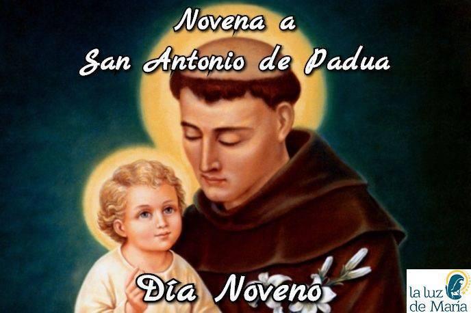 Novena a San Antonio de Padua (Día Noveno)