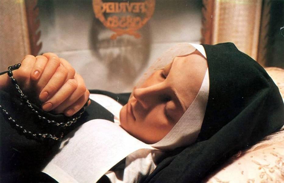 Los cuerpos de estos santos se conservaron milagrosamente después de su muerte.