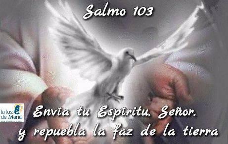 Envía tu Espíritu, Señor, y repuebla la faz de la tierra