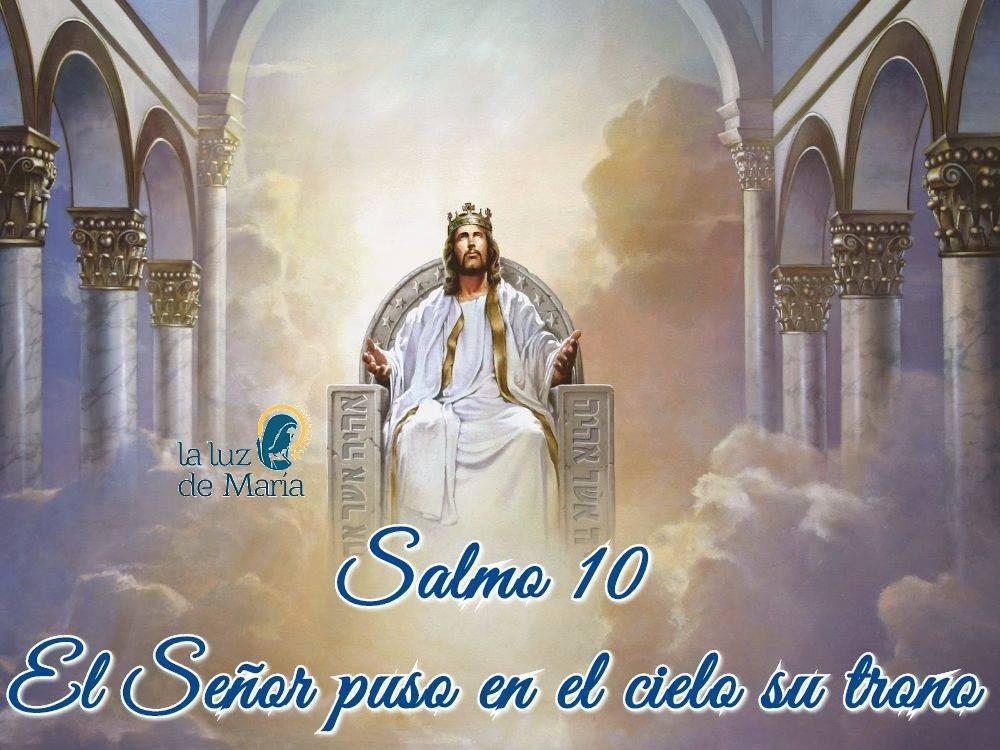 El Señor puso en el cielo su trono