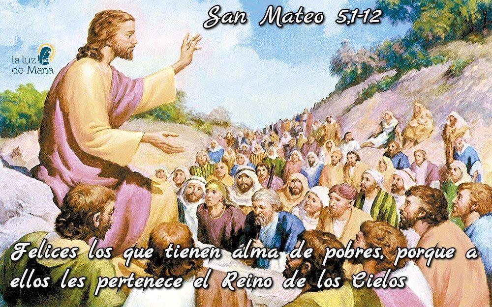 Evangelio según San Mateo 5,1-12.
