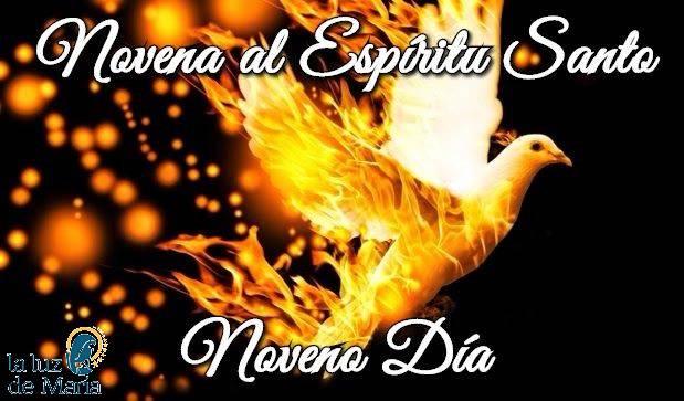 Novena por la Unción del Espíritu Santo (Noveno Día)