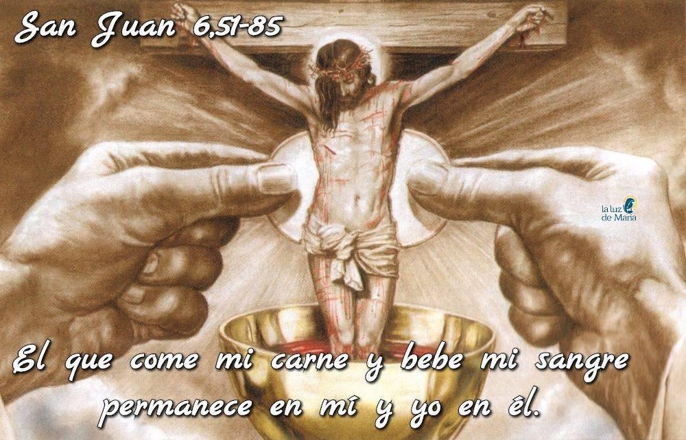 Evangelio según Evangelio según San Juan6,51-85.