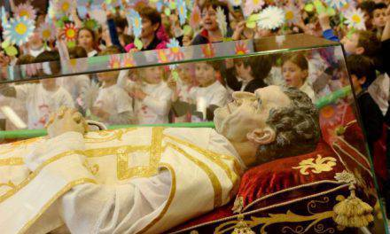 ¿Satánicos roban reliquia de San Juan Bosco en Italia?