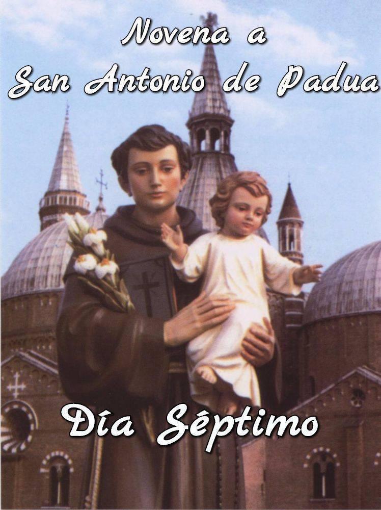 Novena a San Antonio de Padua (Día Séptimo)