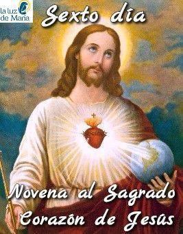 Novena al Sagrado Corazón de Jesús (Sexto día)