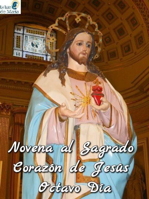 Novena al Sagrado Corazón de Jesús (Octavo Día)