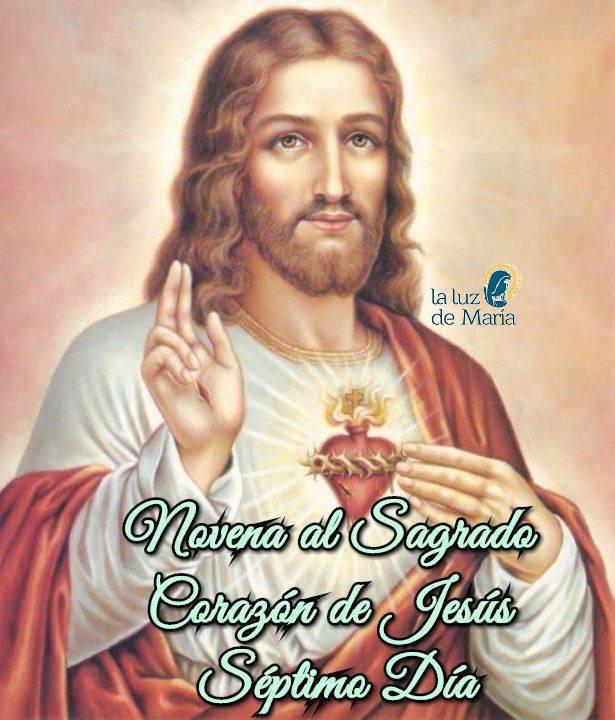 Novena al Sagrado Corazón de Jesús (Séptimo Día)