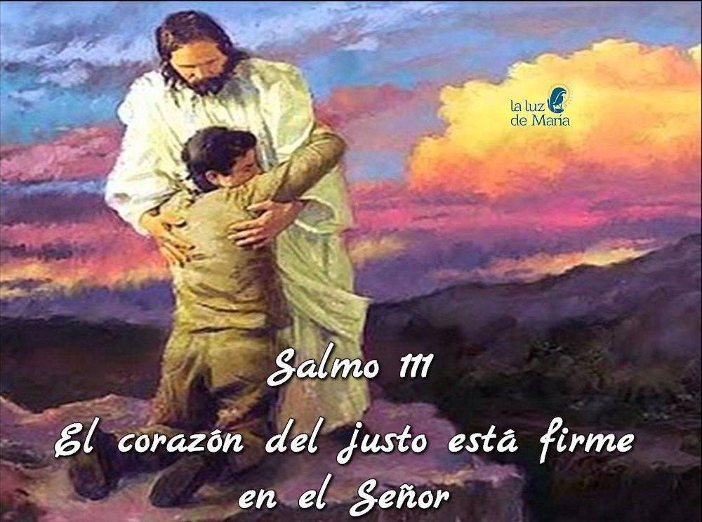 El corazón del justo está firme en el Señor