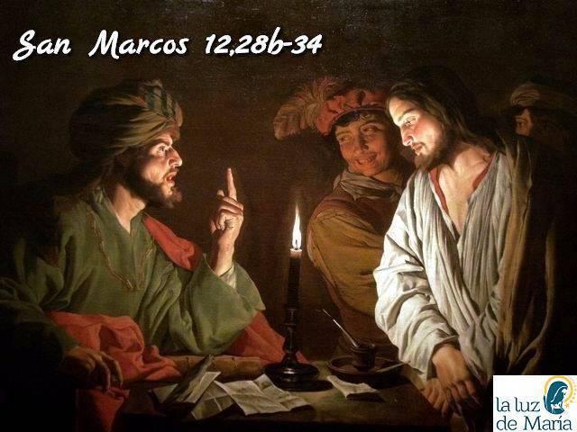 Evangelio según San Marcos 12,28b-34.