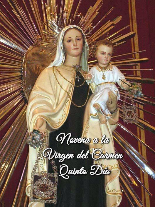 Novena a la Virgen del Carmen (Quinto Día)