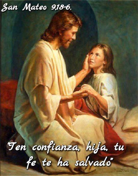 Evangelio según San Mateo9,18-26.