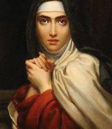 Santa Teresa de Ávila venció al demonio con el poder del agua bendita