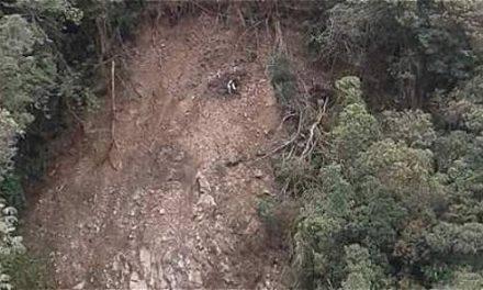 El rostro de Jesús en la montaña. Milagro en Colombia