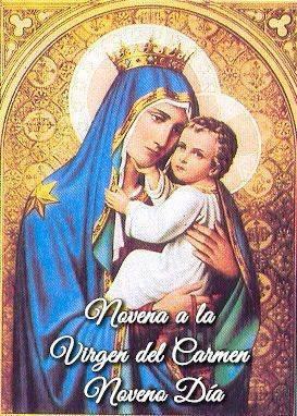 Novena a la Virgen del Carmen (Noveno Día)