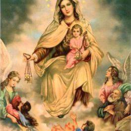 Aparición de la Santisima Virgen del Carmen. VIDEO