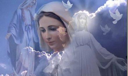 Extraordinario la Virgen anuncia el día de su nacimiento