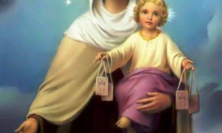 Novena a la Virgen del Carmen (Primer Día)