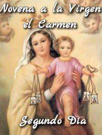 Novena a la Virgen del Carmen (Segundo Día)