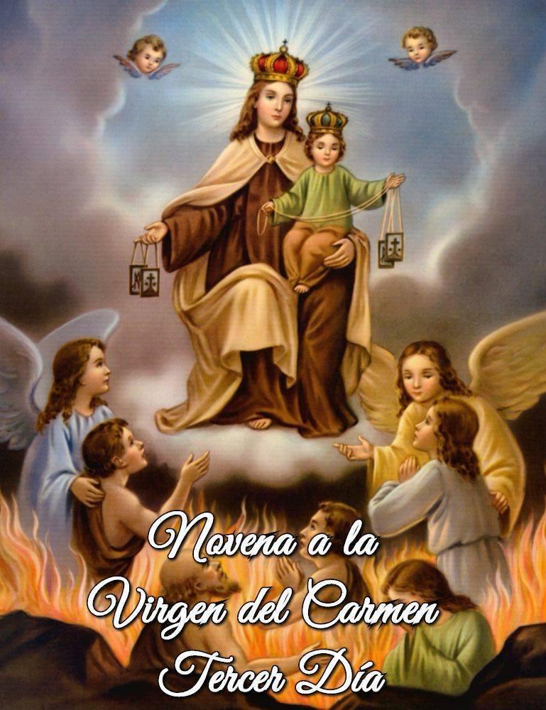 Novena a la Virgen del Carmen (Tercer Día)