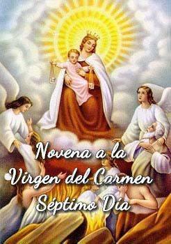 Novena a la Virgen del Carmen (Séptimo Día)