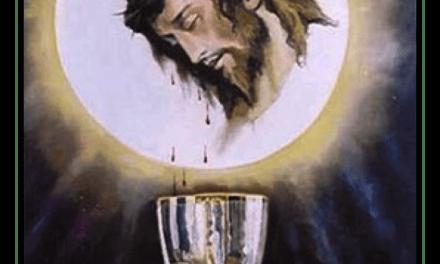 Oración de laSangre deCristo