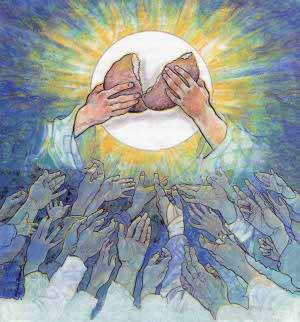 El Señor les dio pan del cielo