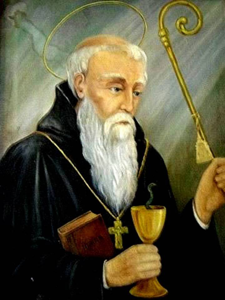 Oración a San Benito para pedir su protección