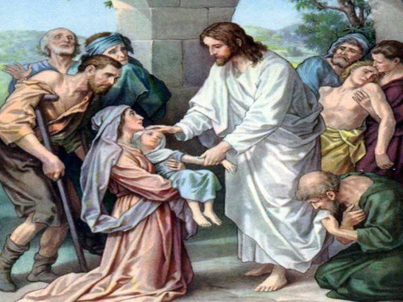 Evangelio según San Mateo15,21-28.