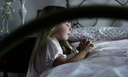 Una oración para antes de dormir corta y eficaz