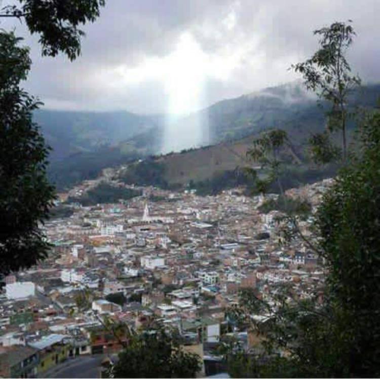 Increíble aparición de Jesús en Colombia