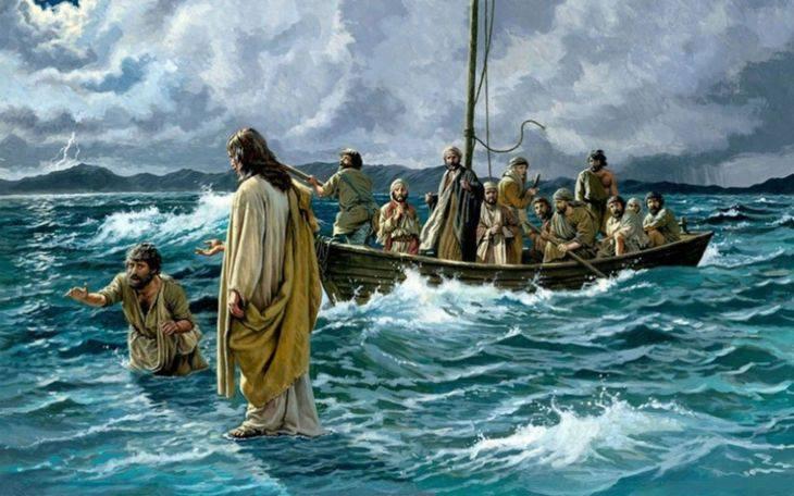Evangelio según San Mateo14,22-33.