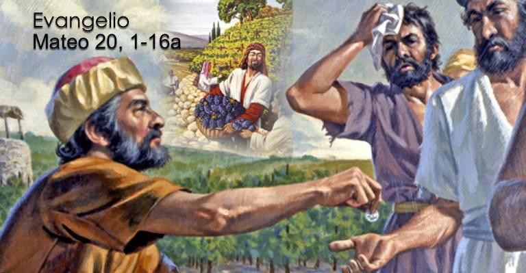 Evangelio según San Mateo 20,1-16.