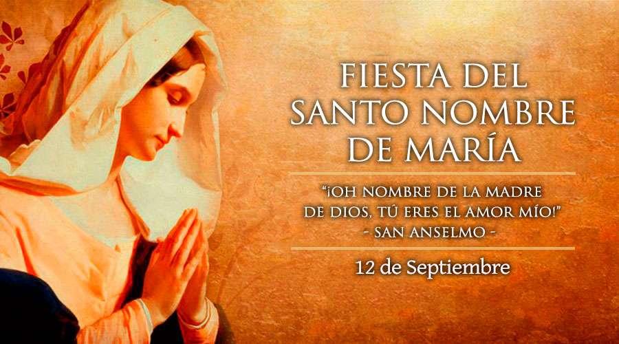Oración al nombre de María