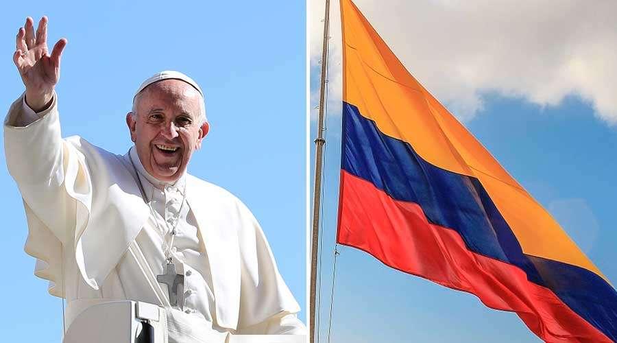 Oración oficial por la visita del papa Francisco a Colombia