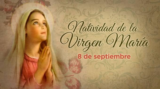 Oración por la Natividad de la Virgen María