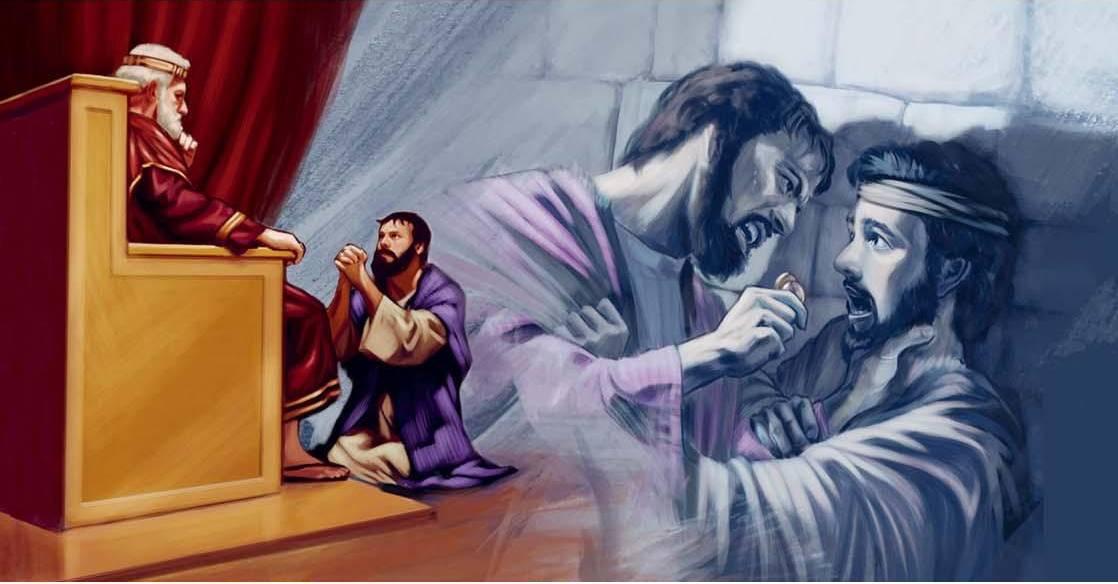 Evangelio según San Mateo 18,21-35.