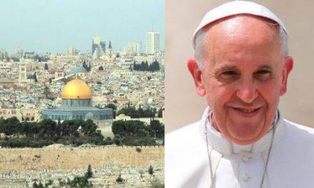 El Papa Francisco lanza un mensaje a los cristianos de Tierra Santa y pide el fin de la violencia